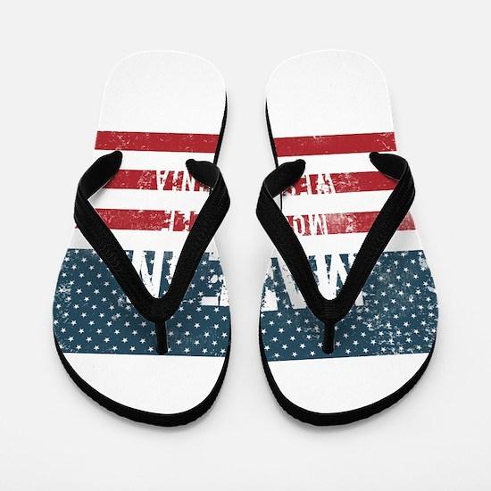 Made in Moundsville, West Virginia Flip Flops