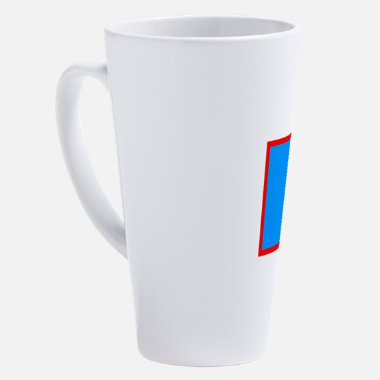 Cute Guam flag 17 oz Latte Mug