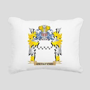 Crawford Coat of Arms - Rectangular Canvas Pillow