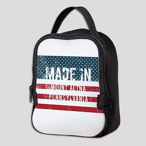 Made in Mount Aetna, Pennsylvan Neoprene Lunch Bag