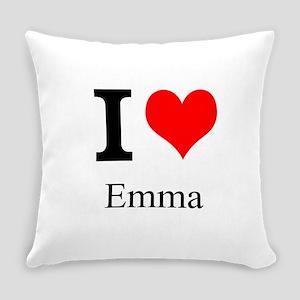 I Love Emma Everyday Pillow