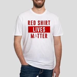 Star Trek Red Shirt Lives Matter Fitted T-Shirt