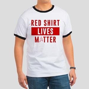 Star Trek Red Shirt Lives Matter Ringer T