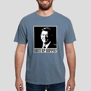 "Ronald Reagan says ""SHUT UP HIPPIE!"" T-Shirt"