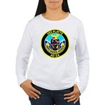 USS Platte (AO 24) Women's Long Sleeve T-Shirt