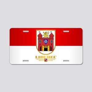 Liberec Aluminum License Plate