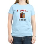 I Love Books Women's Light T-Shirt