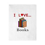 I Love Books Twin Duvet