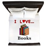 I Love Books King Duvet