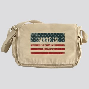 Made in Mount Aukum, California Messenger Bag