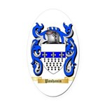 Pashanin Oval Car Magnet