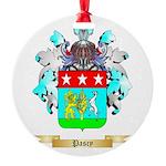 Pascy Round Ornament