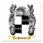 Pascual Square Car Magnet 3