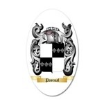 Pascual 35x21 Oval Wall Decal
