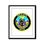 USS Platte (AO 24) Framed Panel Print