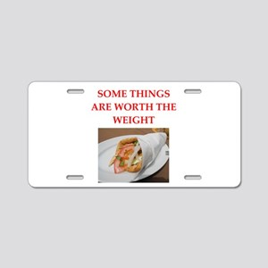 gyros Aluminum License Plate
