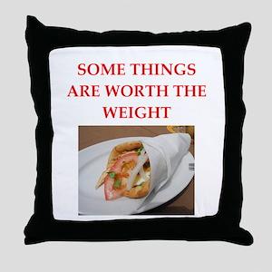 gyros Throw Pillow