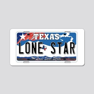 Texas - Lone Star Aluminum License Plate