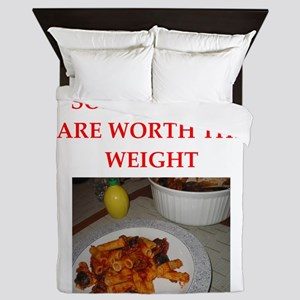 a funny food joke on gifts and t-shirts Queen Duve
