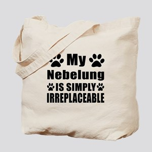 My Nebelung cat is simply irreplaceable Tote Bag