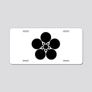 Kanke umebachi Aluminum License Plate
