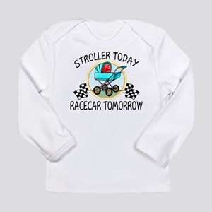 Stroller Today Racecar Long Sleeve Infant T-Shirt