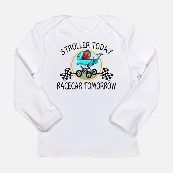 Stroller Today Racecar Long Sleeve Infant T-Shirt