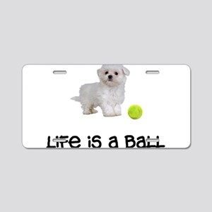 Maltese Life Aluminum License Plate