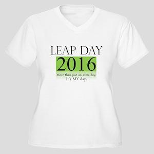 Leap Day 2016 Plus Size T-Shirt