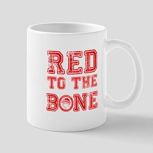 RED TO THE BONE Mugs