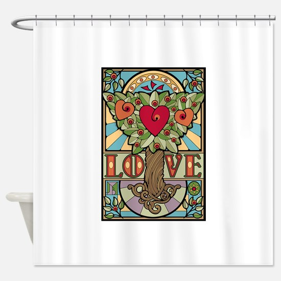 Love Grows Shower Curtain
