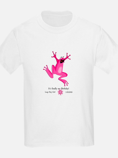 Leap Day Girl 2016 T-Shirt