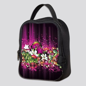 Mardi Gras Neoprene Lunch Bag