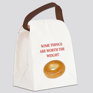 bagel Canvas Lunch Bag