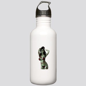 bloody zombie girl Stainless Water Bottle 1.0L