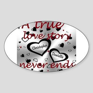 True Love Story Sticker