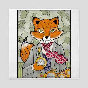 The Dapper Mr. Fox Queen Duvet