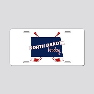 North Dakota Hockey Aluminum License Plate