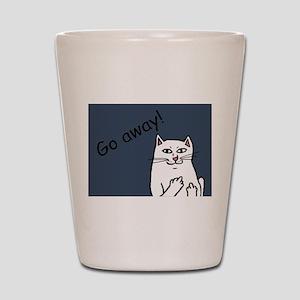 Naughty Cat Shot Glass