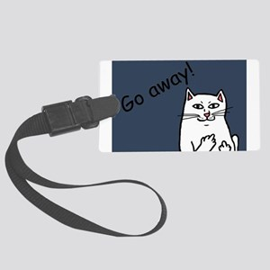 Naughty Cat Luggage Tag