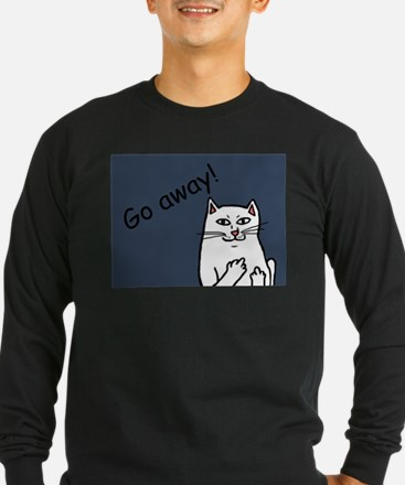 Naughty Cat Long Sleeve T-Shirt