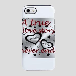True Love Story iPhone 8/7 Tough Case