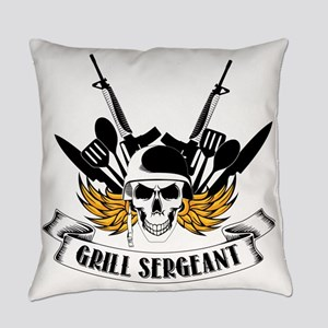 Grill Sergeant Everyday Pillow
