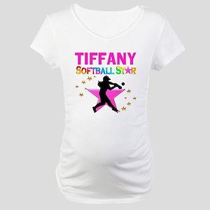 SOFTBALL STAR Maternity T-Shirt