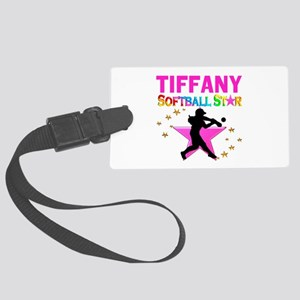 SOFTBALL STAR Large Luggage Tag