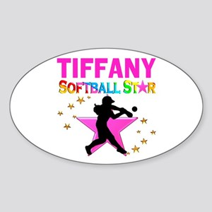 SOFTBALL STAR Sticker (Oval)