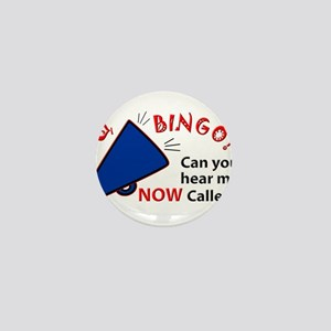 Bingo Caller Mini Button