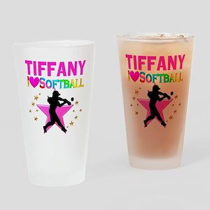 SOFTBALL STAR Drinking Glass