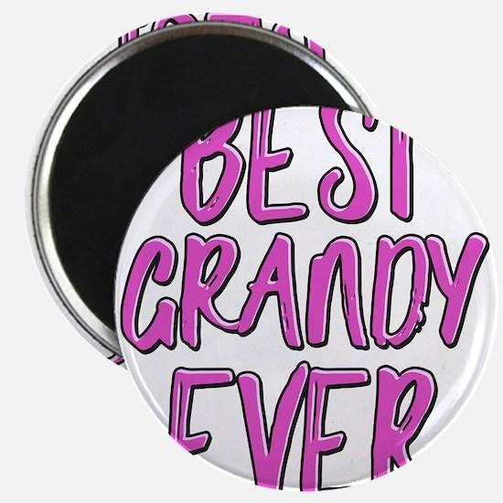 Best grandy ever grandmother Magnets