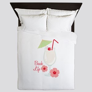 Beach Life Queen Duvet